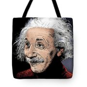 Atomic Albert Tote Bag