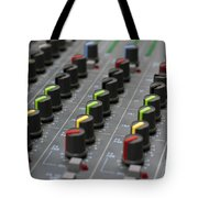 Audio Mixing Board Console Tote Bag