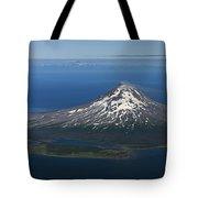 Augustine Volcano Cook Inlet Alaska Tote Bag