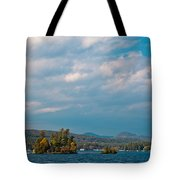 Autumn On Lake George Tote Bag