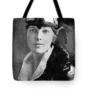 Aviator Amelia Earhardt No Date-2010 Tote Bag