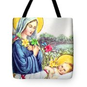 Baby Jesus Tote Bag