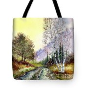 Backroads Tote Bag