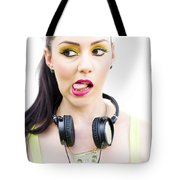 Bad Taste In Music Tote Bag