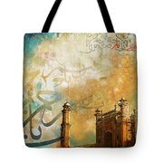 Badshahi Mosque Tote Bag