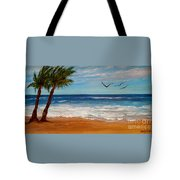 Bahama Breeze Tote Bag