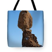 Balanced Rock Arches National Park Utah Tote Bag