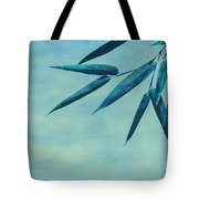 Bamboo - Blue Tote Bag