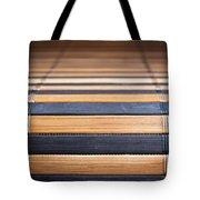 Bamboo Mat Texture Tote Bag