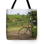 Banana Bike Tote Bag