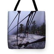 Bandaloop Dance Company, Yosemite, Ca Tote Bag
