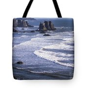 Bandon Beach Seastacks 4 Tote Bag