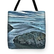 Bandon Beach Swirls Tote Bag