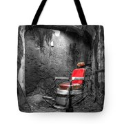 Barber Chair Tote Bag
