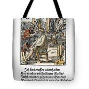 Barber-surgeon, 1568 Tote Bag