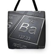 Barium Chemical Element Tote Bag