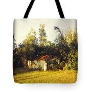 Barn Landscape Tote Bag
