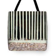 Bars Tote Bag by Tom Gowanlock