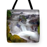 Base Of The Falls Tote Bag by Marty Koch