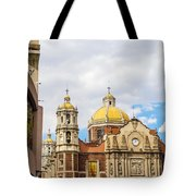 Basilica Of Our Lady Of Guadalupe Tote Bag