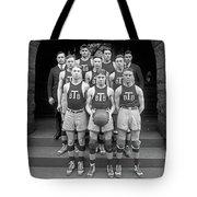 Basketball Team, 1920 Tote Bag