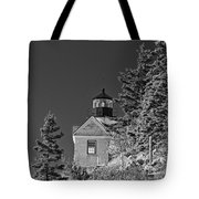 Bass Harbor Lighthouse Mount Desert Island Maine Tote Bag