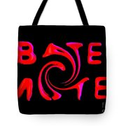 Bates Motel In Blood And Twisted Tote Bag