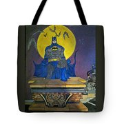 Batman On The Roof Top Tote Bag