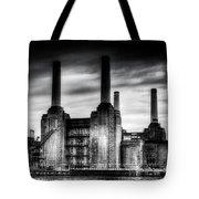 Battersea Power-station London Tote Bag
