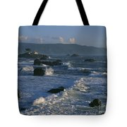 Battery Point Lighthouse At Sunset Tote Bag