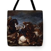 Battle Of Saint-quentin Tote Bag