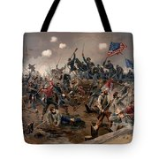 Battle Of Spottsylvania Tote Bag