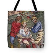 Battlefield Surgeon, 1540 Tote Bag