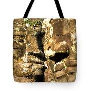 Bayon Faces - Angkor Wat - Cambodia Tote Bag
