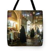 Bazaar Market In Isfahan Iran Tote Bag