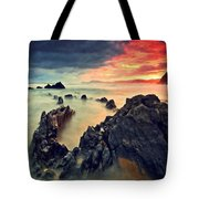 Beach 3 Tote Bag