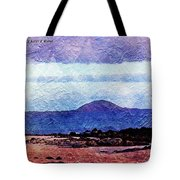 Beach As A Painting Tote Bag