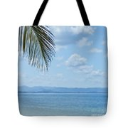 Beach Background Tote Bag