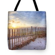 Beach Fences Tote Bag