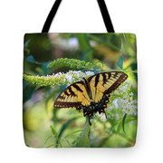 Beautiful Butterfly Pollination Tote Bag