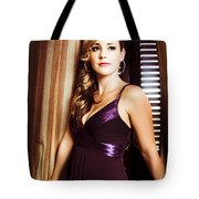 Beautiful Glamour Model Tote Bag