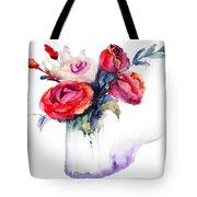 Beautiful Roses Flowers Tote Bag