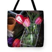 Beautiful Spring Tulips Tote Bag