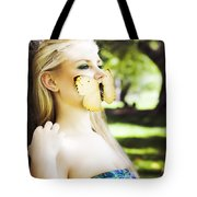 Beauty In Silence Tote Bag