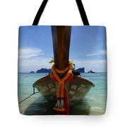 Beauty Of Boats Thailand 1 Tote Bag