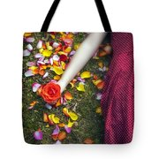 Bedded In Petals Tote Bag