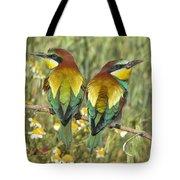 Bee-eaters Tote Bag