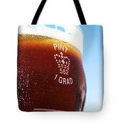 Beer Pint Glass Tote Bag