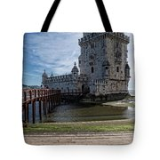 Belem Tower Tote Bag