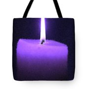 Believe In The Light Tote Bag